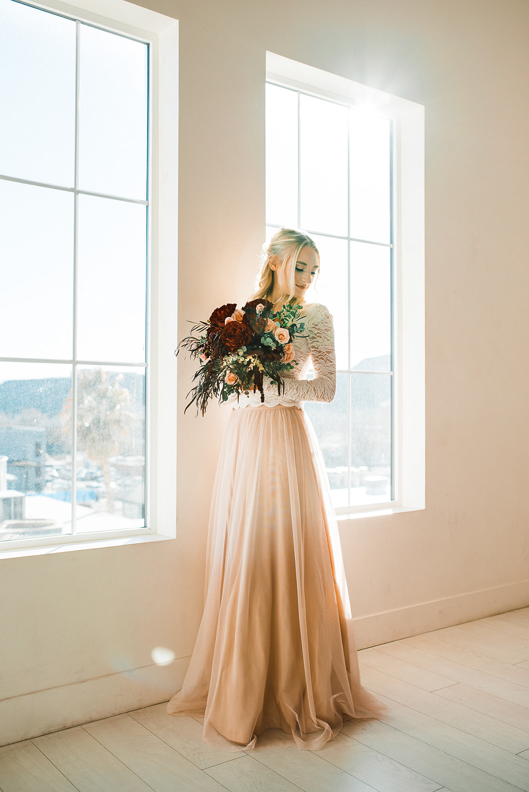 valentine's day décor gown ooh lala rentals