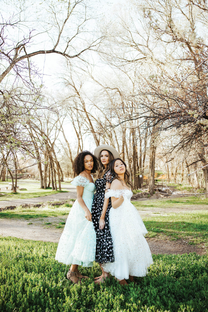 Colorful Bridesmaid Gowns